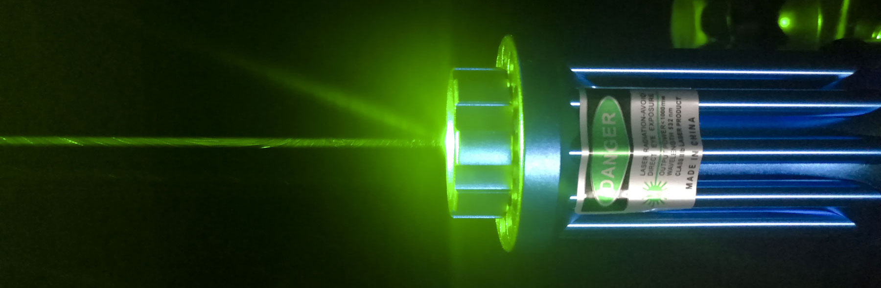 Powerful Green Laser