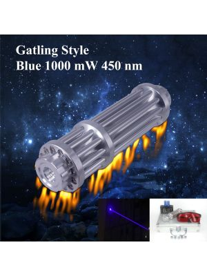 REAL 1000mW high power blue laser pointer, the same with other sellers labeled