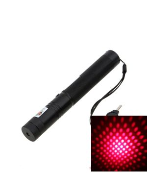 This is a 150mW 650nm Red Laser Pointer with safety lock. It is able to ignite matches, shoot balloons, engrave on plastics, and shoot off firecrackers.