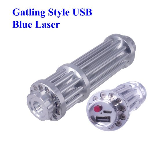 "REAL 1000mW high power blue laser pointer with usb charging build-in batteries, the same with other sellers labeled ""10000 mw"" or ""10 watt"", it's Class 4 powerful blue laser pointer that burns in market. This laser is able to  ignite matches, cig., papers"