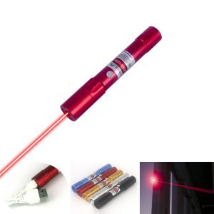R211 150mW Red Laser Pointer Flashlight-Shape Fixed-Focus